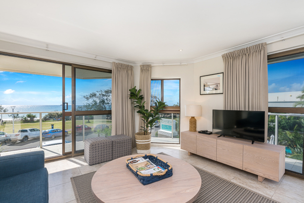 Beachfront accommodation in Byron Bay