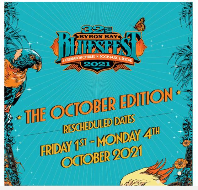 Blues festival new dates 2021